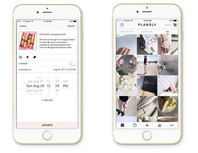plainly instagram planner pour graphiste freelance