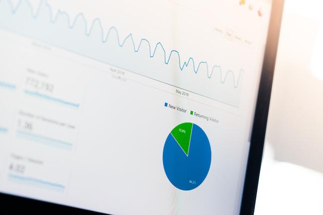 statistiques Google Analytics cas d'etude rédacteur