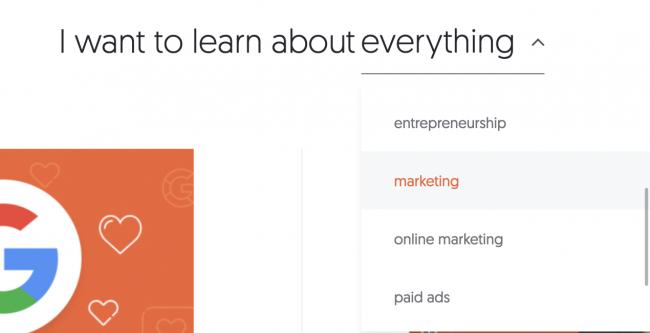 blog moteur de recherche intelligent exemple redacteur