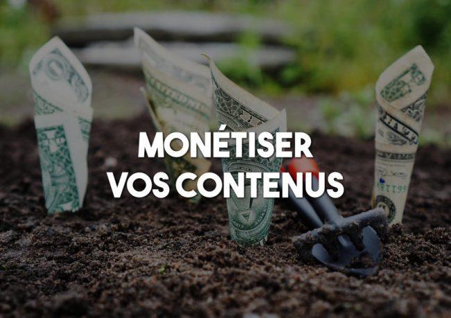 monetiser contenu web redacteur blog