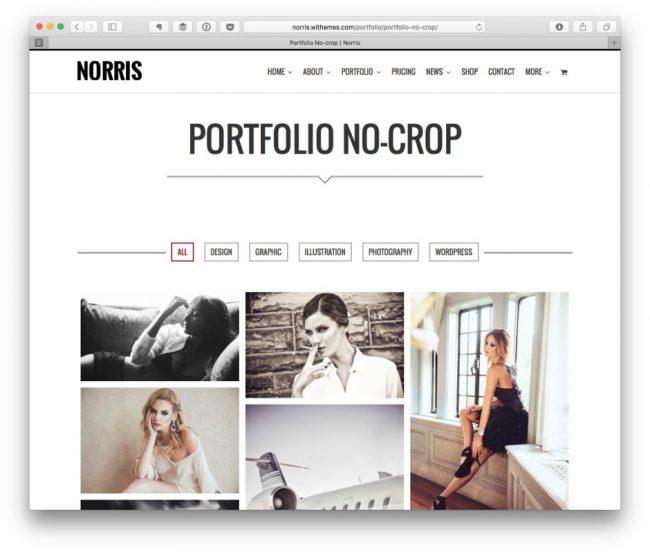 exemple de portfolio de photographe graphiste