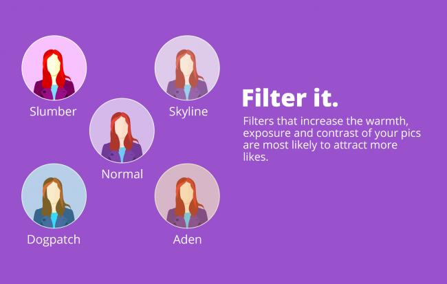 éditer filtre prendre une selfie photographe photo graphiste