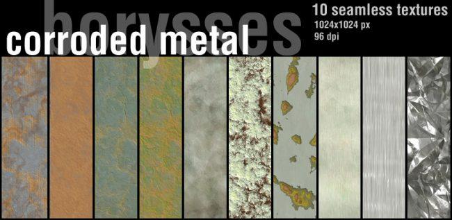 texture de metal corrosion free gratuit