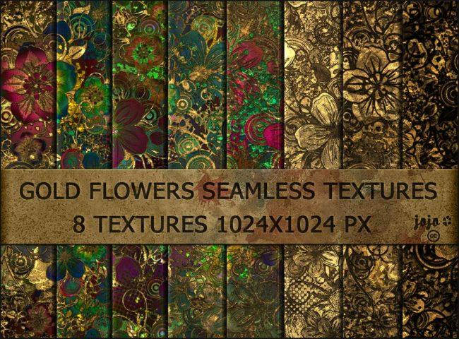 fleurs de metal texture effet décoratif pour graphiste gratuit