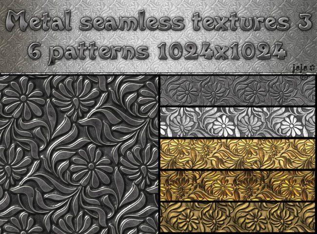 textur metall décoration fleurs effet brossé pour graphiste