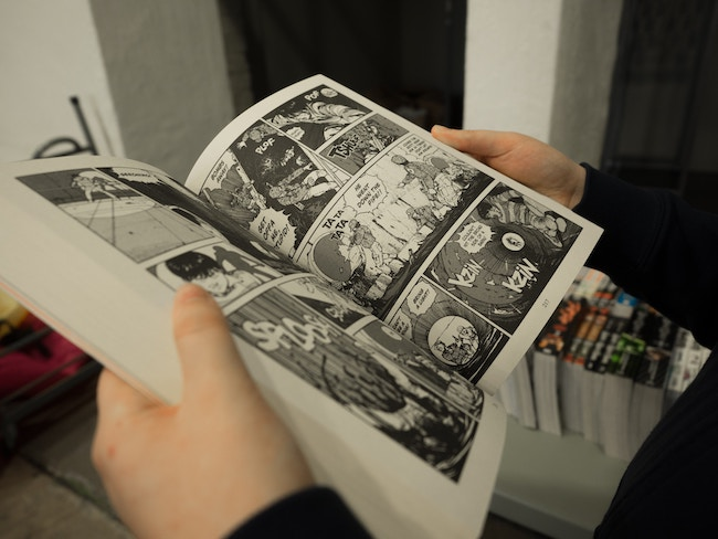 comment crée une bande dessinée graphiste
