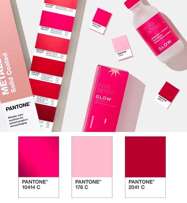 palette pour l'automne graphique tendance des couleurs pour graphiste freelance rose