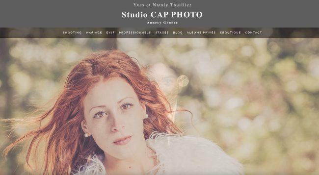 exemple de site de professionnel de la photographie