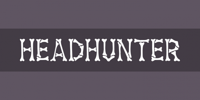 typo free font halloweenn