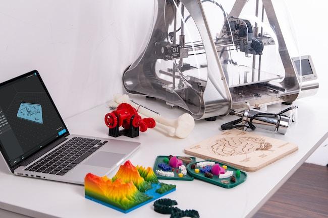 graphiste impression 3D réglé a suivre