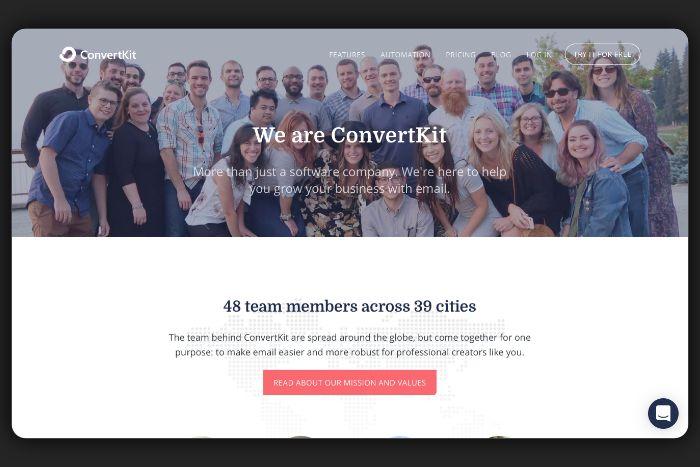 About us - ConvertKit