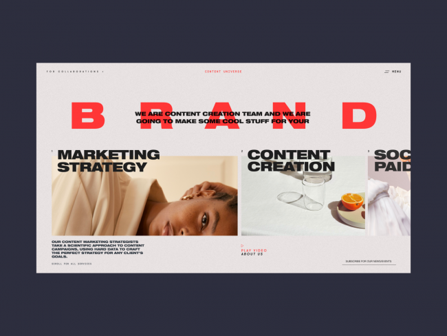 exemple de brand marketing dribble