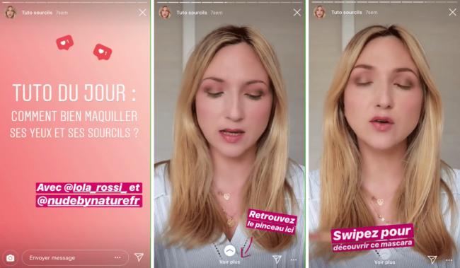 instagram stories exemple de contenu pour redacteur