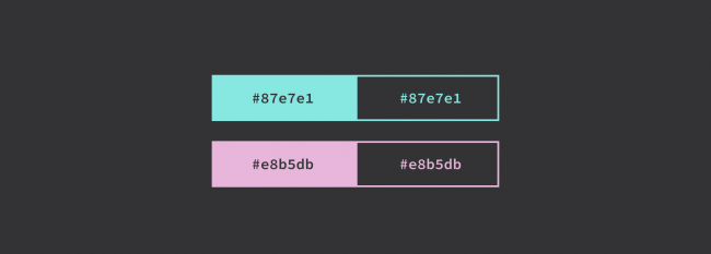 dark mode couleur mode sombre ux Ui webdesign