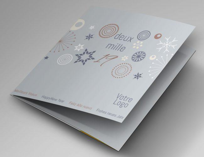 carte de voeux Emilia webdesign graphiste freelance
