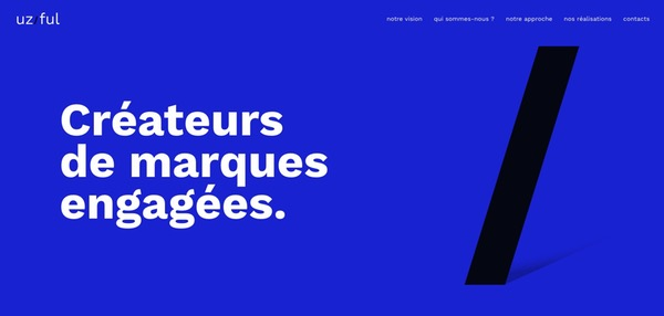 Typographie large