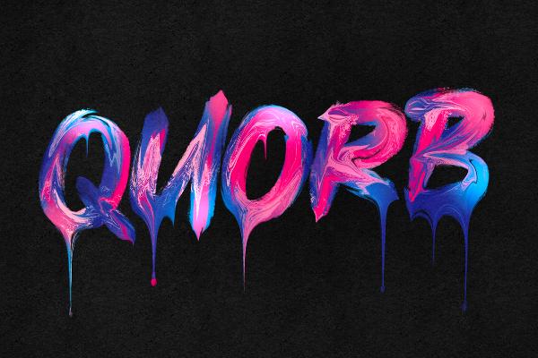 Typographie liquide