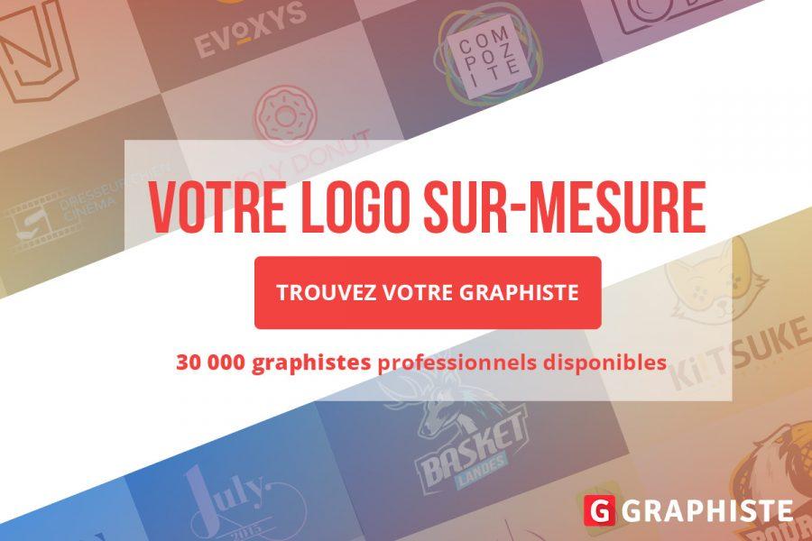 creation logo sur-mesure graphiste freelance bannière publicité