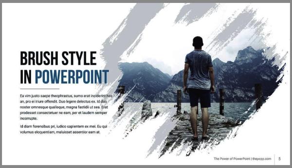 Template power point design gratuit