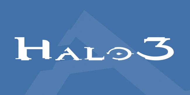 Halo typographie police