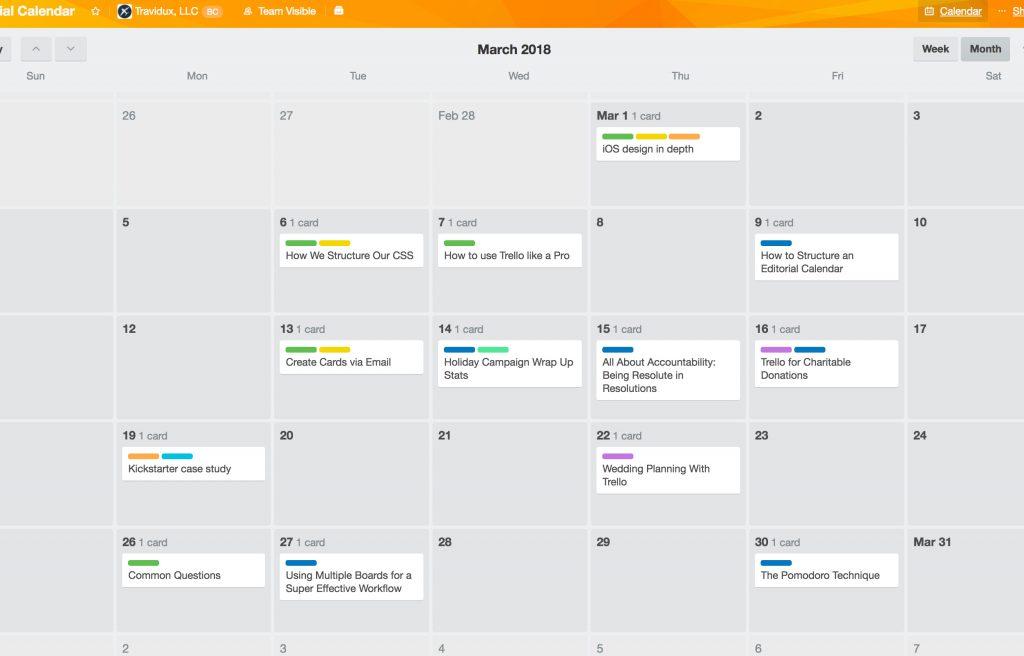 Calendar Power Up
