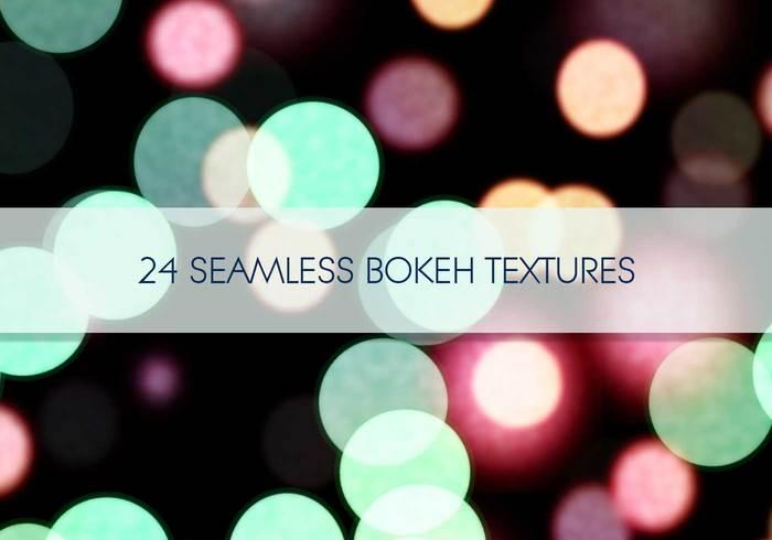 textures bokeh