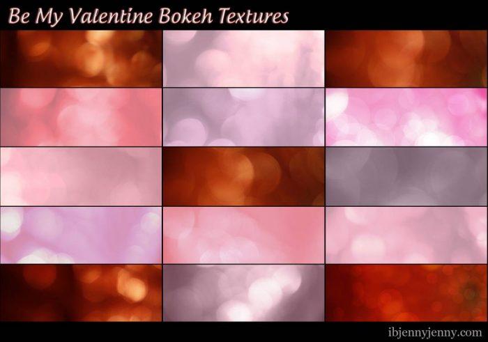 pack de textures gratuites saint Valentin