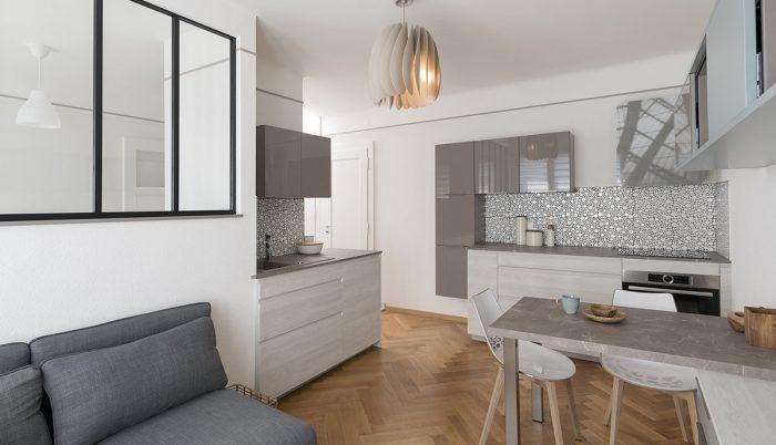 photographie cuisine immobilière