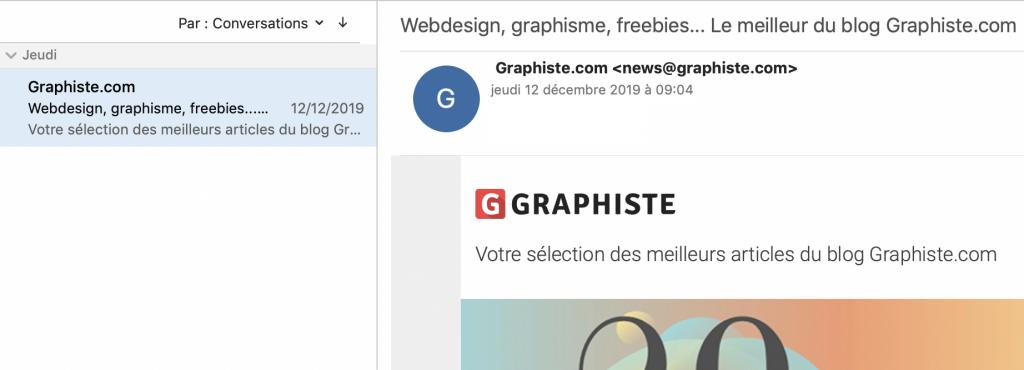 email entête graphiste