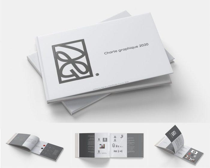 gris charte graphique logo couleur print