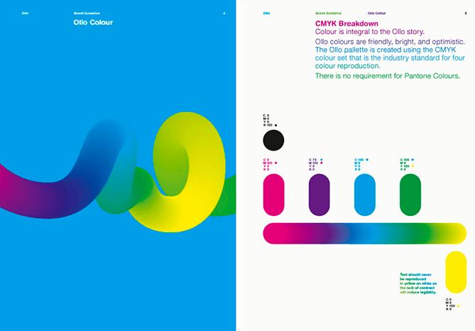 palette de couleurs charte graphique