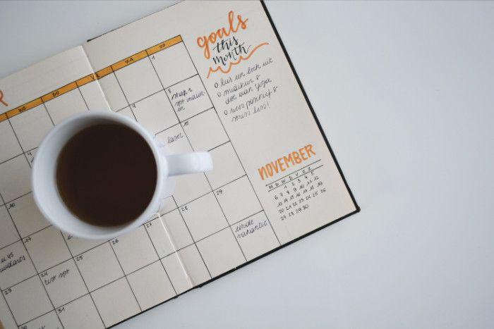 Freelance organisation bullet journal