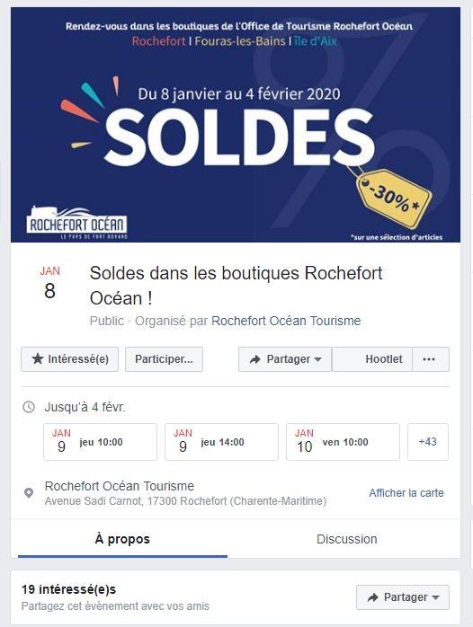 Facebook événement