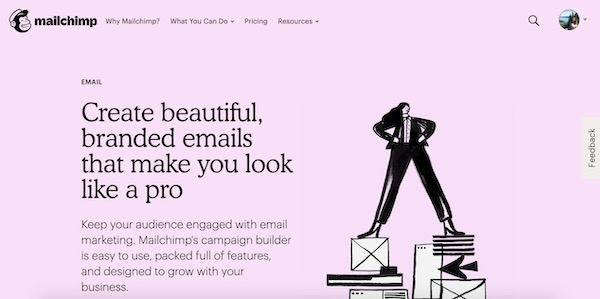 Mailchimp plateforme routage emailing