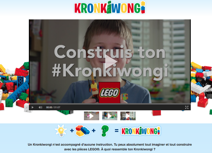 exemple de ugc marketing lego