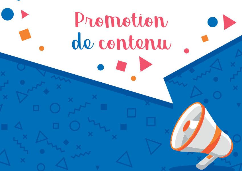 tactiques de promotion de contenu