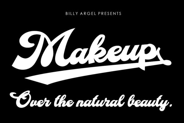 typographie makeup