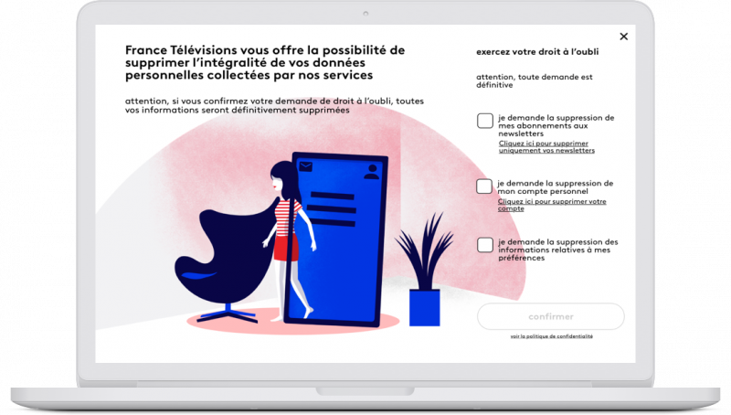 illustration medium doit a oubli UX UI webdesign