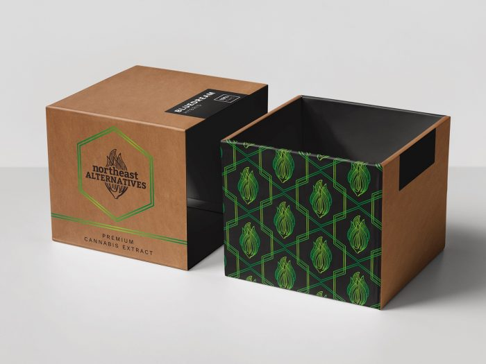 lineart packaging graphiste