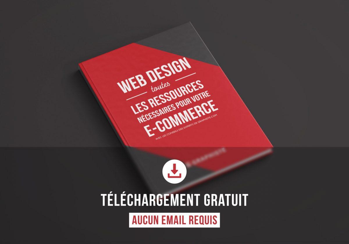 livre blanc e-commerce graphiste gratuit free webdesign site télécharger