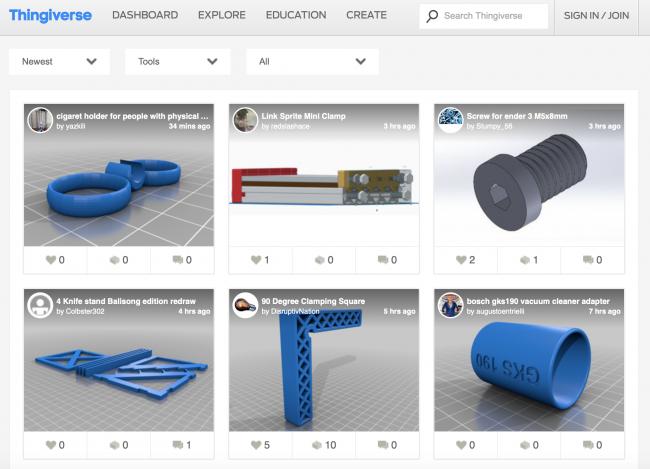 outils 3D free gratuit