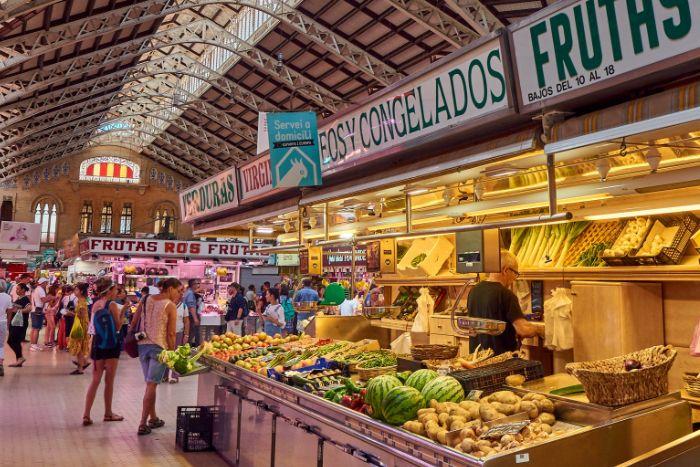 Commerce Espagne