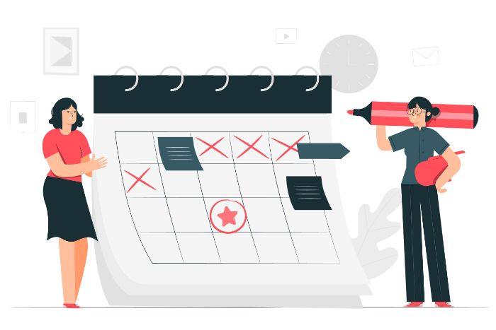Tendances blogging calendrier éditorial