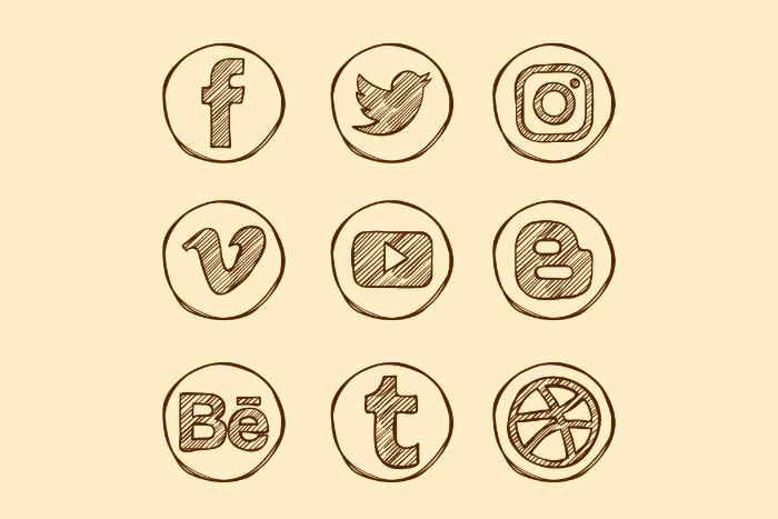 tendance webdesign icones sketchy
