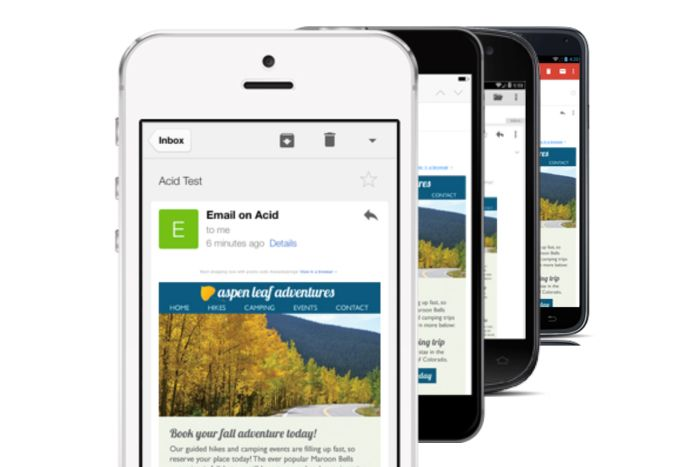 Email rendering mobile responsive