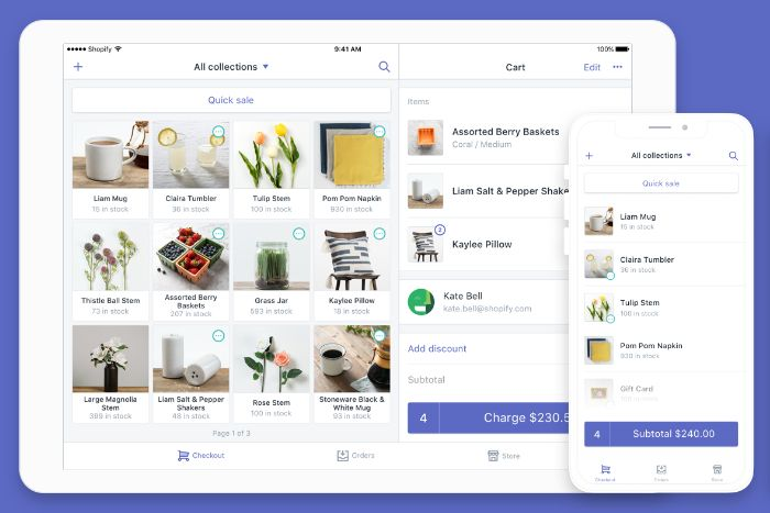 Booster ventes Shopify Point of Sales