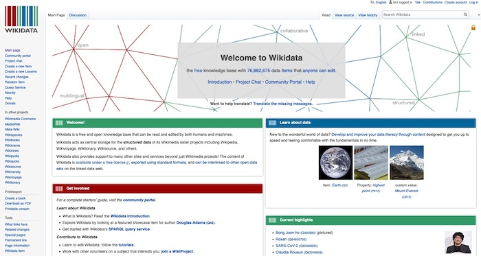 Answer Engine Optimization WikiData