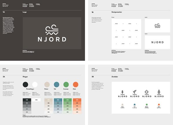 charte graphique webdesign