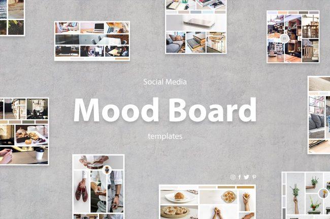 template gratuit moodboard free