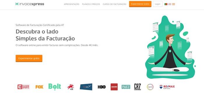 InvoiceXpress facturation logiciel certifié e-commerce Portugal